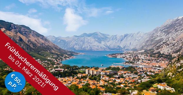 Flugreise Montenegro mit Ausflug nach Albanien